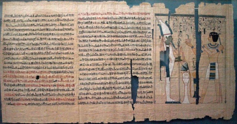 Oldest_Longest_Ancient_Egyptian_Leather_Manuscript_2
