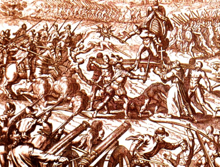 oddest_military_encounters_history_Battle_of_Cajamarca