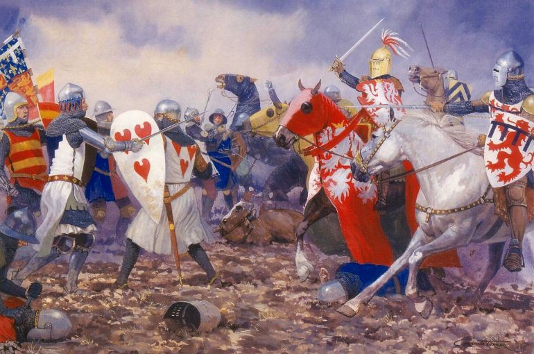 oddest_military_encounters_history_battle_of_crecy
