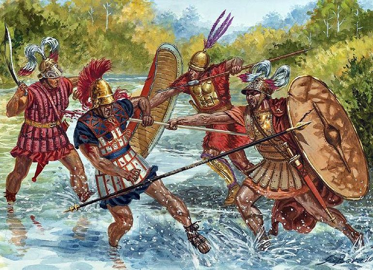 Animation_Evolution_Roman_Battle_Tactics_2