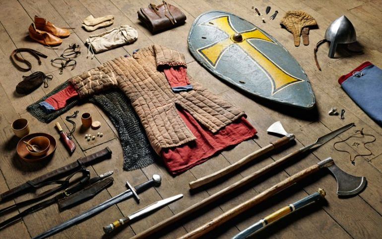 Huscarl-gear-Battle-of-Hastings-1066