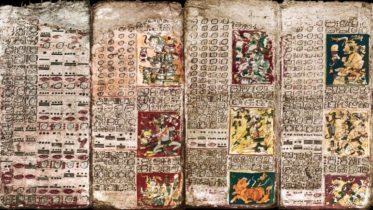 Dresden Codex. Credit: NOVA/PBS