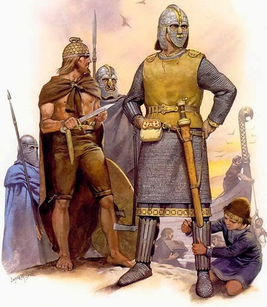 the life of the anglos and the saxons in the epic poem beowulf Find this pin and more on year 5 anglo saxons by fiddlersl beowulf:  free characteristics of an epic poem hero beowulf essays  by the anglos, saxons and.