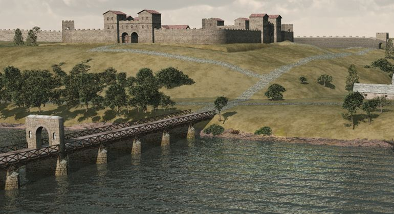 3d-animation-pons-aelius-newcastle-roman-fort_2