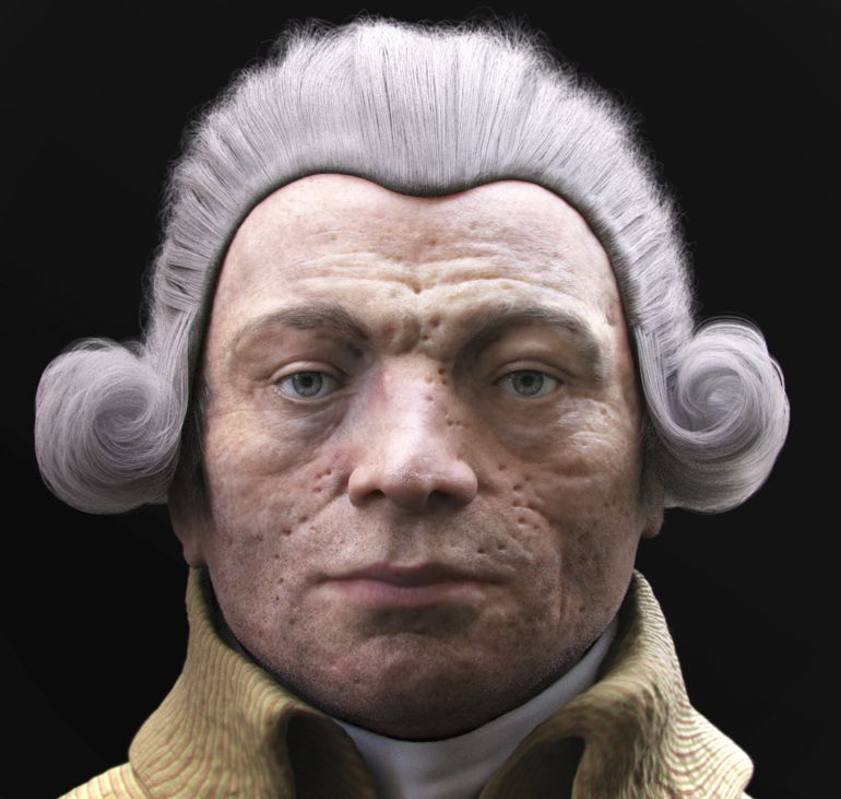 France Robespierre's Face