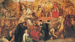 Sir John Gilbert's 1849 painting: The Plays of Shakespeare