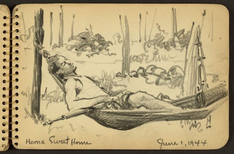 sketches-wwii-21-year-old-victor-lundy_9