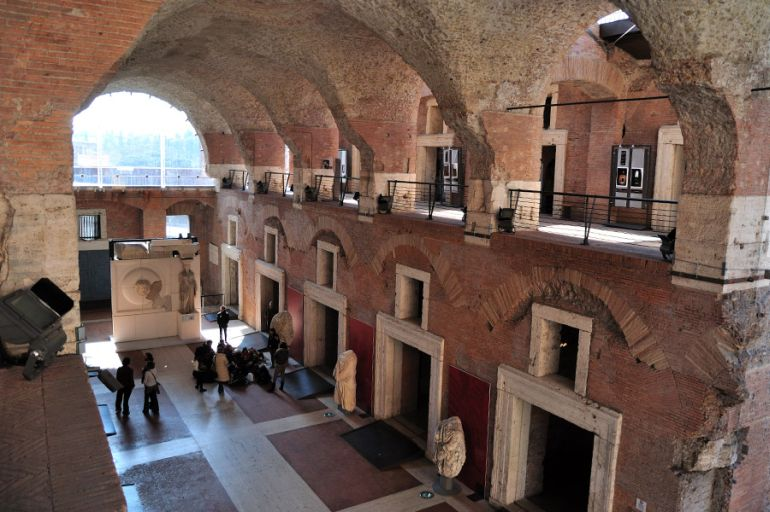 Trajan 39 s market the world 39 s oldest known public shopping for Ancient roman interior decoration
