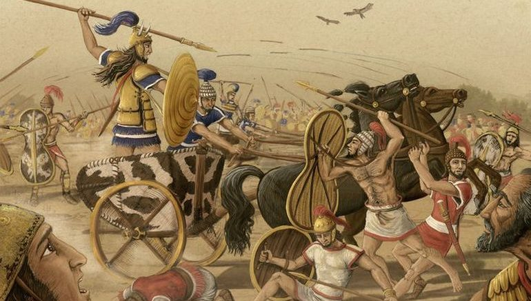 an analysis of the character of achilles in the illiad by homer Character analysis:  after thinking he was fighting achilles because patroclus was wearing achilles armour in homer's iliad hector is portrayed to appear less.