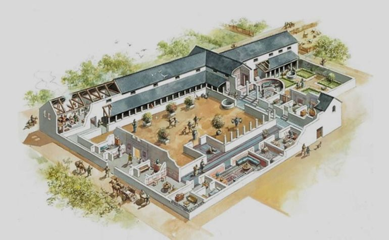 Intricate Mosaic And Underfloor Heating Among Features For Ancient Roman Houses In Britain