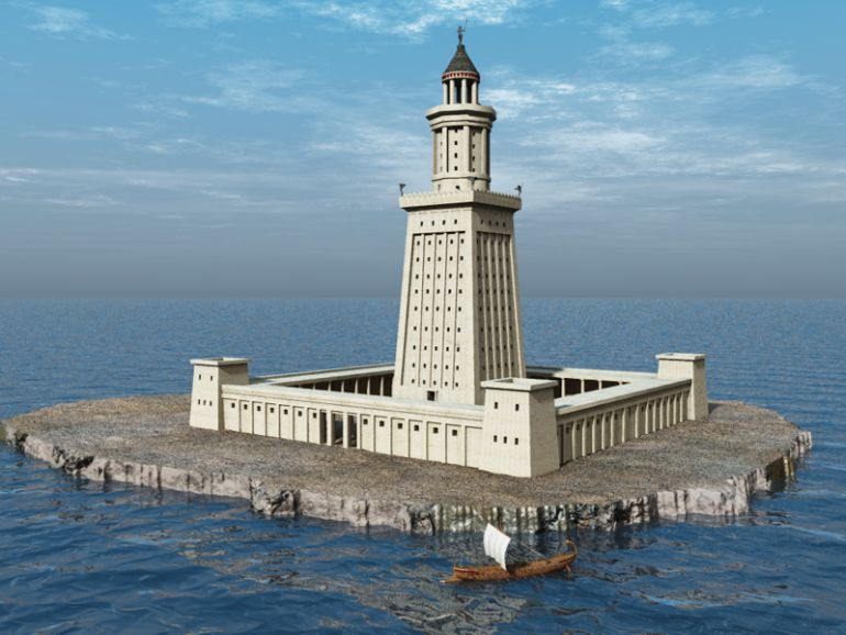 Tallest_Man-Made_Buildings_Ancient_Lighthouse_of_Alexandria_1