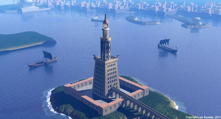 Tallest_Man-Made_Buildings_Ancient_Lighthouse_of_Alexandria_2