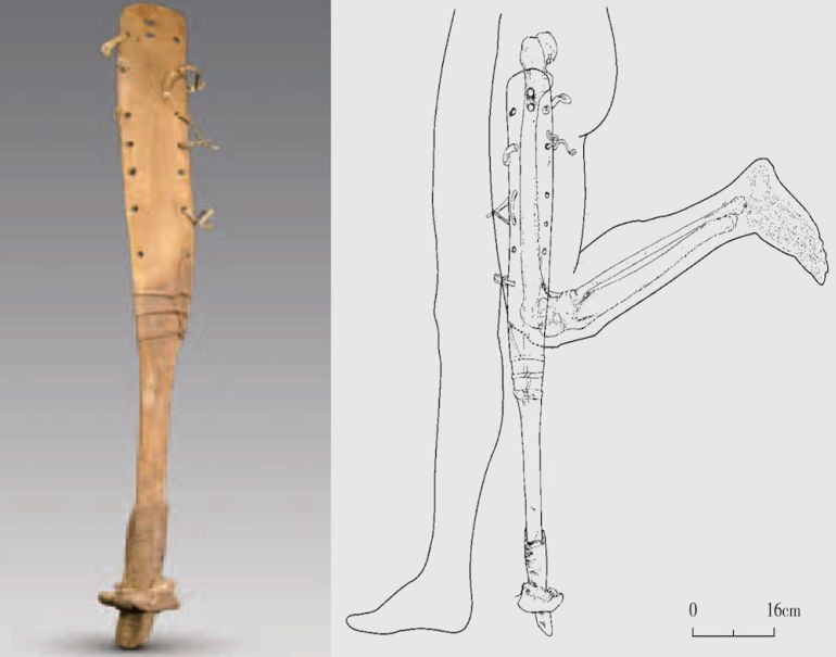 Oldest_Extant_Specimen_Prosthetic_Leg_China_1
