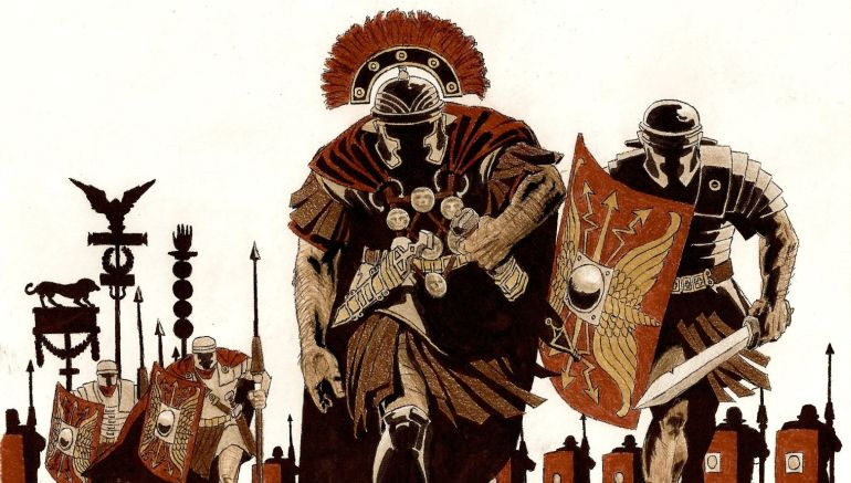 Animation Gives A Neat Overview Of The Roman Army Organization
