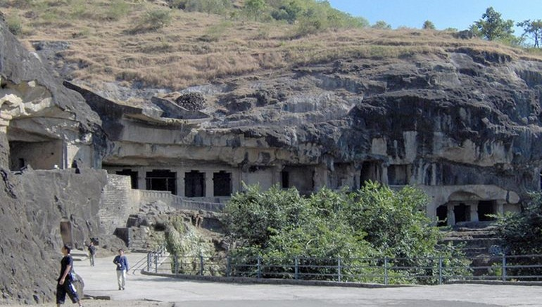Cannabis_Preserved_Ancient Walls_Ellora_Caves_1