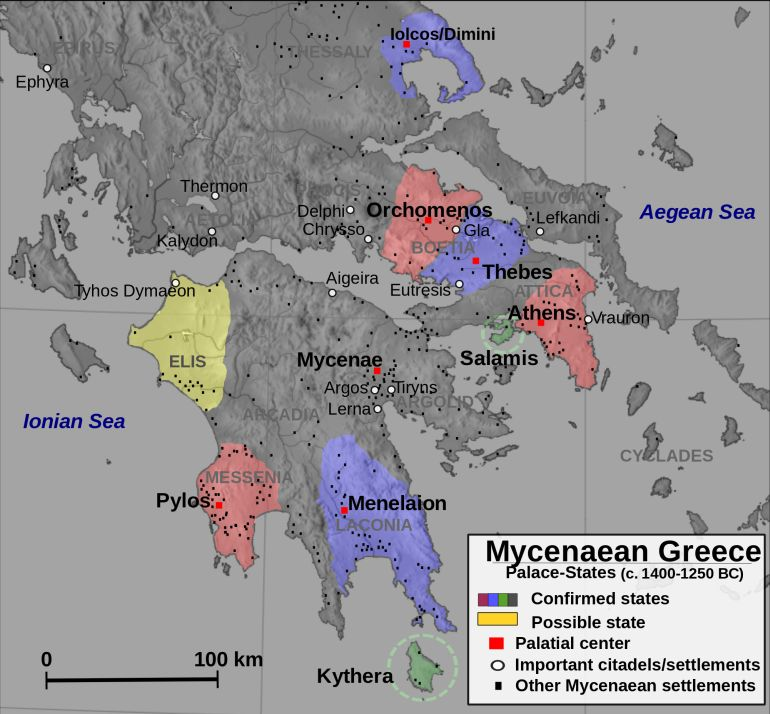 10 Things You Should Know About The Mycenaeans And Their Armies