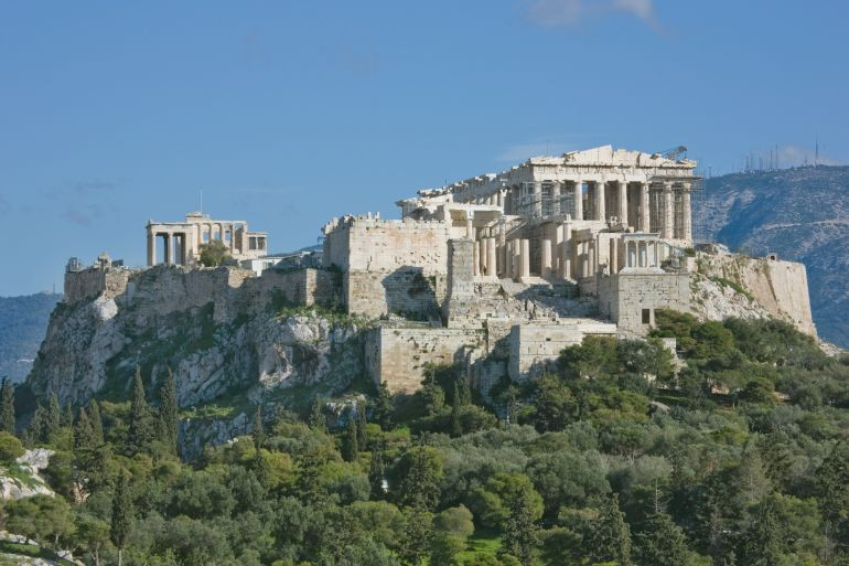 Animations Show The Timeline Of Acropolis And Parthenon