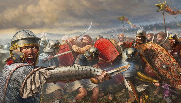 the battle of adrianople and its influence on roman perspectives towards the barbarians The eastern roman field army in the battle of adrianople of the western roman empire its authority roman military policy and the barbarians.