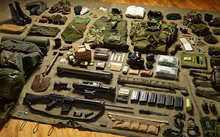 Royal-Marine-Commando-gear-Falklands-War-1982