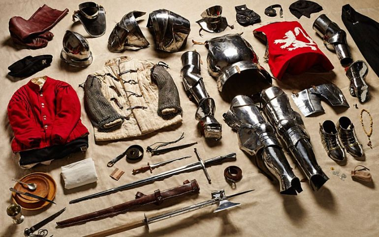 Yorkist-man-at-arms-gear-Battle-of-Bosworth-Field-1485