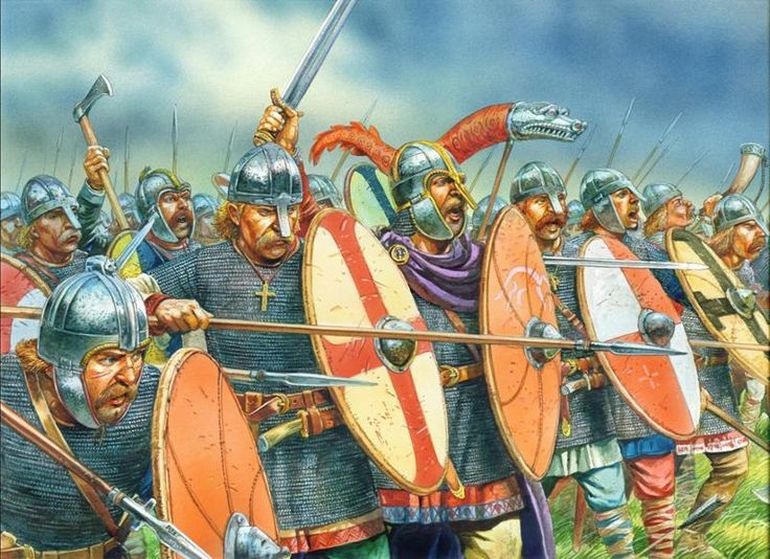 Image result for Anglo-Saxons Mercenaries