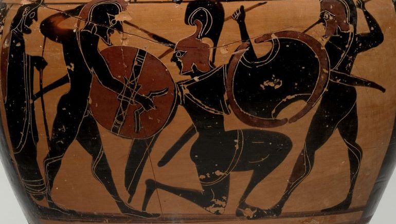 Elegant Vase Animation Presents The Ancient Greek Hoplites At War