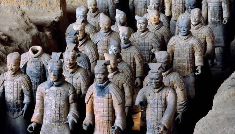 "ancient china versus ancient greece As archaeologists and historians continue to examine the famous ""terracotta  warriors"" from the tomb of emperor qin shi huang, new knowledge about ancient ."