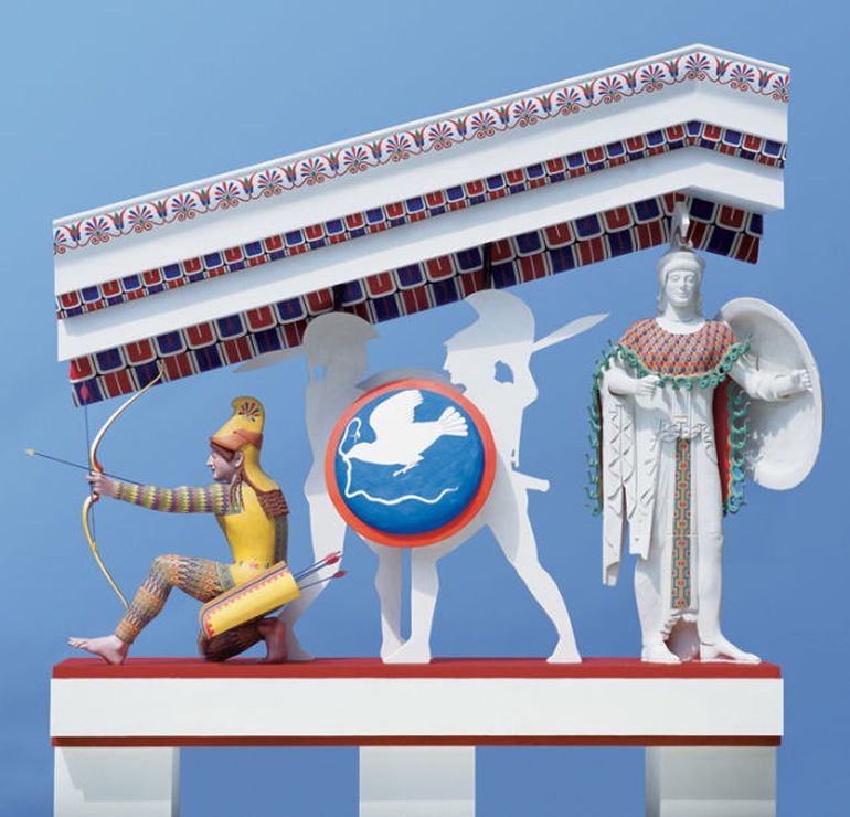 Video Presents How The Ancient Greek Statues Really Looked