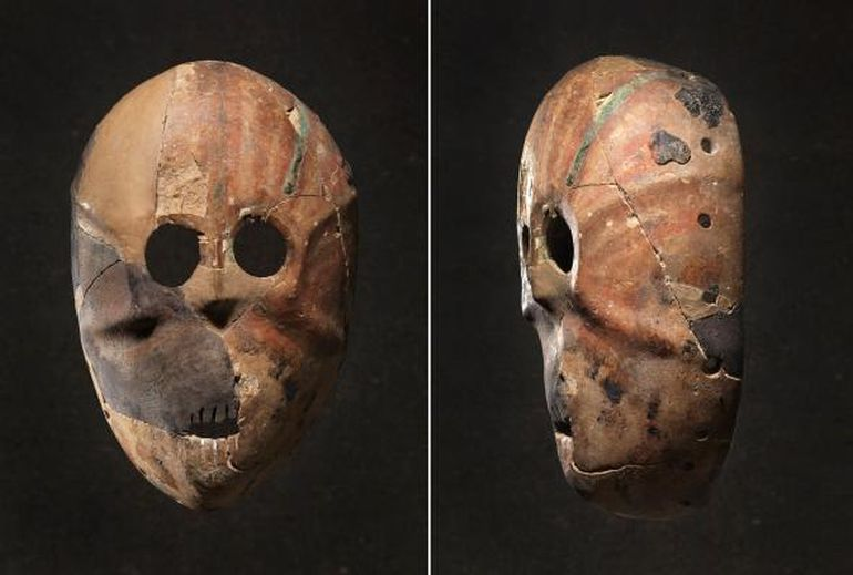 Behold The World S Oldest Masks With Their Seemingly
