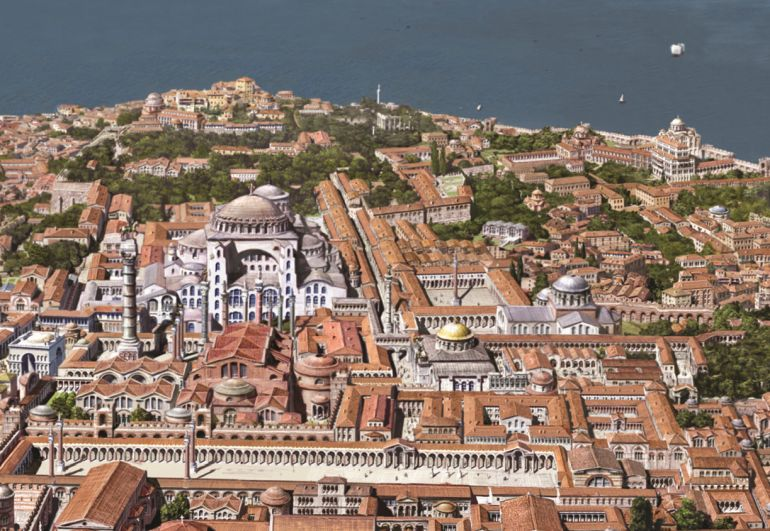 Gorgeous Images Reconstruct Constantinople From 4th To ...