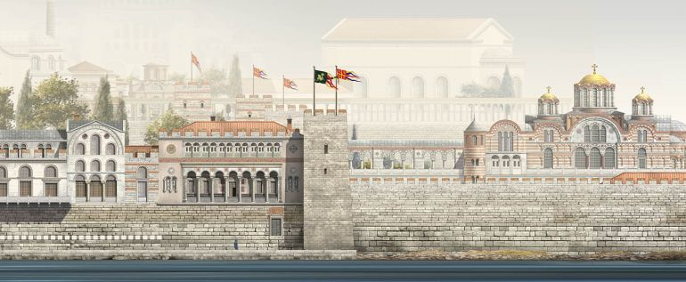 Gorgeous Images Reconstruct Constantinople From 4th To 13th
