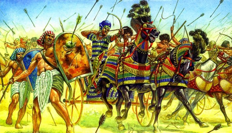 ancient egypian armies