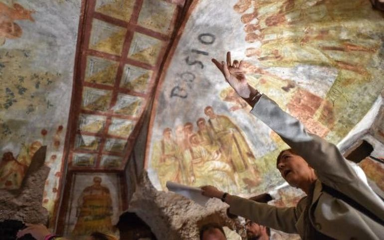 1600-Year Old Frescoes Of Jesus Christ Unraveled By Laser