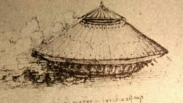 Leonardo da Vinci's Armored Car. Source: Wikimedia Commons