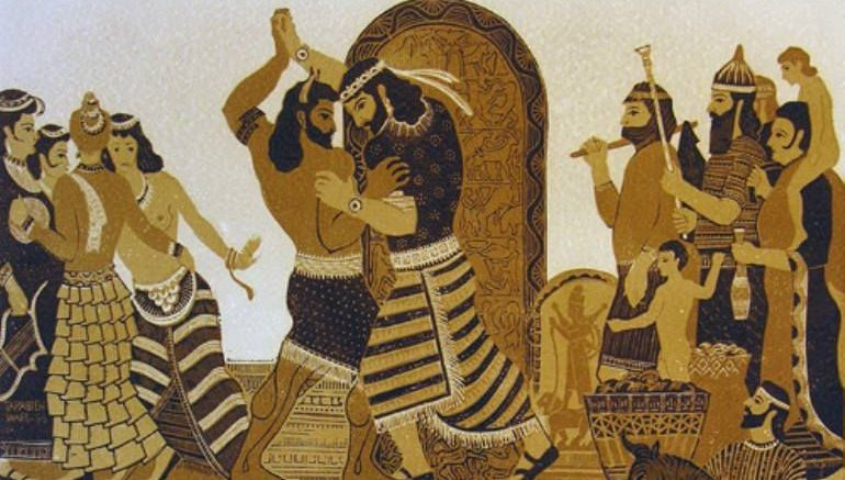 an illustration of cruelty in the poem the epic of gilgamesh Like many ancient poems and epic tales,  song of the nibelungs: the epic germanic tale of love, death, and revenge – part 2.
