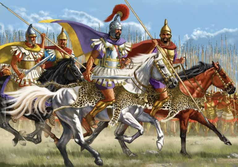 ancient macedonian army_alexander army_1