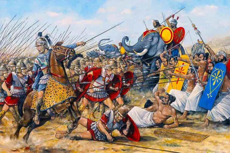 alexander the great speech war