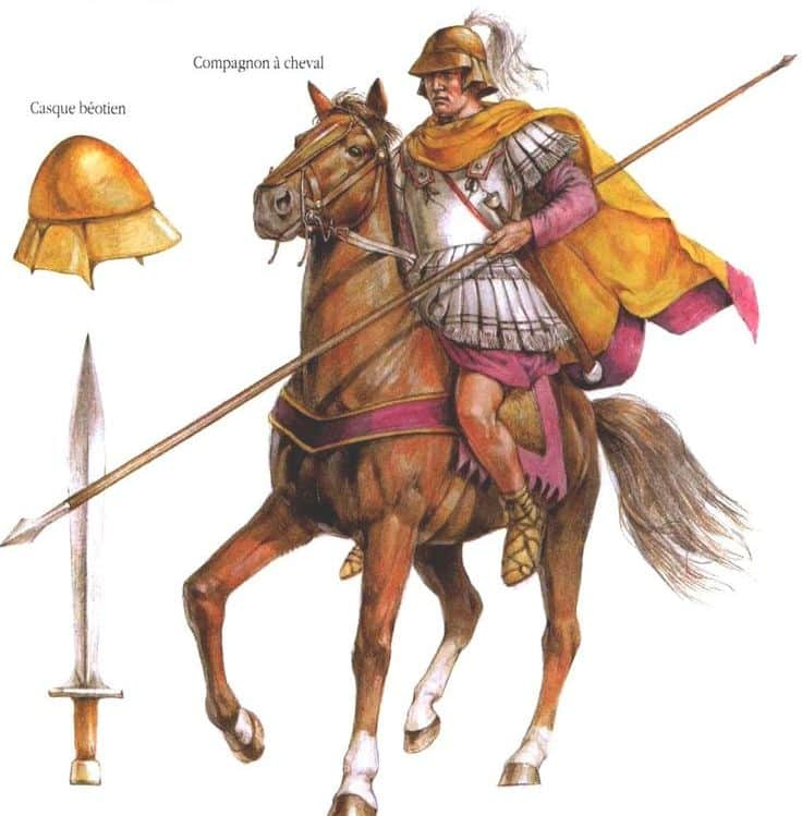 ancient macedonian army_alexander army_4