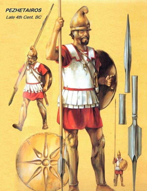 ancient macedonian army_alexander army_5