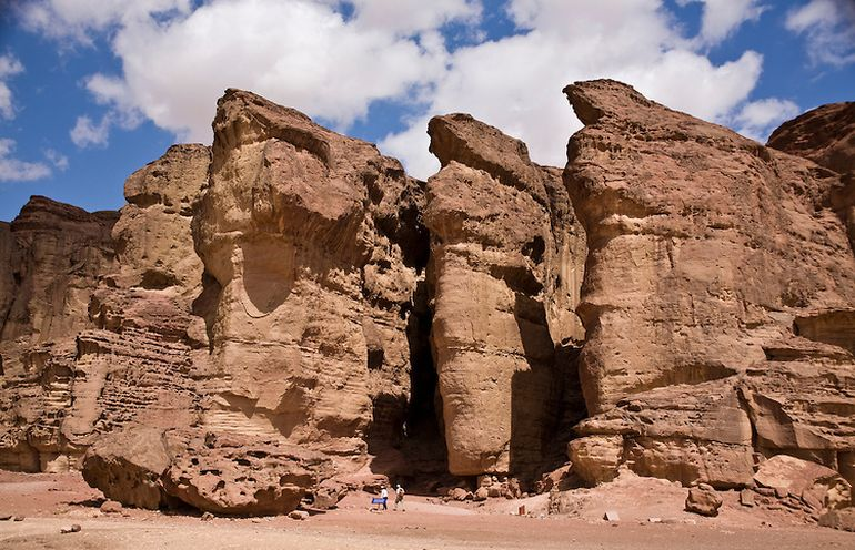 remains-pregnant-woman-timna-valley-mines_4