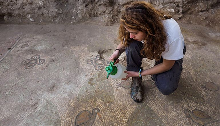 Beit Shemesh New Construction: Remnants Of 1,500-Year Old Eastern Roman Monastery Found