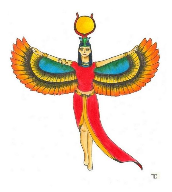 Images of egyptian gods and goddesses