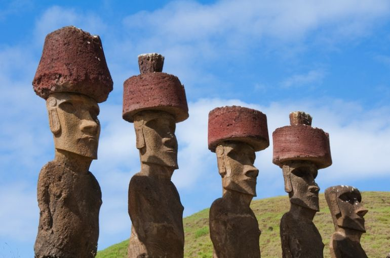 Easter Island Heads Purpose