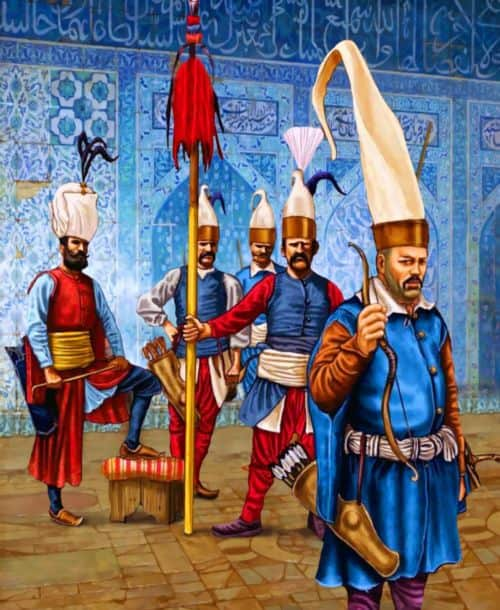 Janissaries: Origins and Military Of The Elite SoldiersOttoman Empire Janissaries