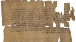 Manuscript-Ancient Egypt-Medical-2