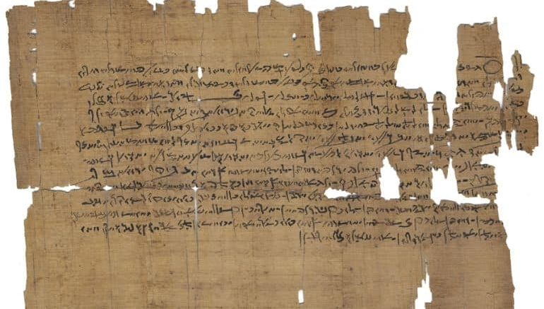 oldest medical text on kidneys found in manuscript from ancient egypt