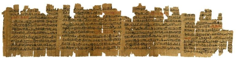Manuscript-Ancient Egypt-Medical-3