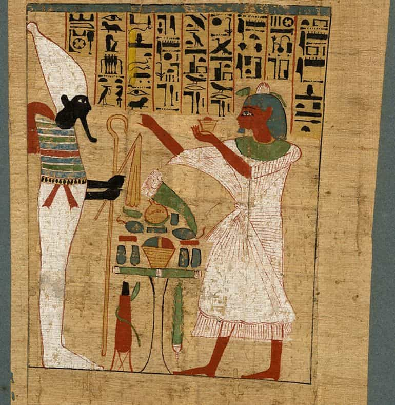 Manuscript-Ancient Egypt-Medical-4