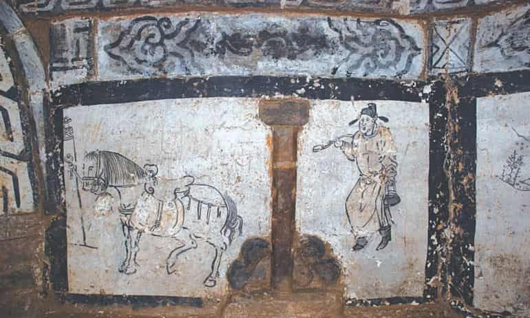 Mongol-China-Tomb-Murals-6