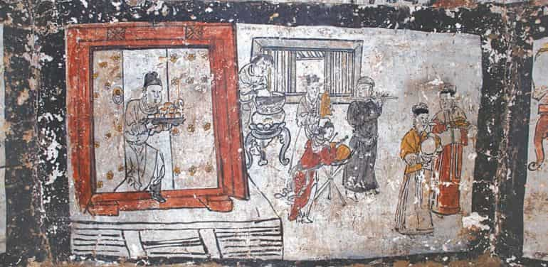 Mongol-China-Tomb-Murals-7